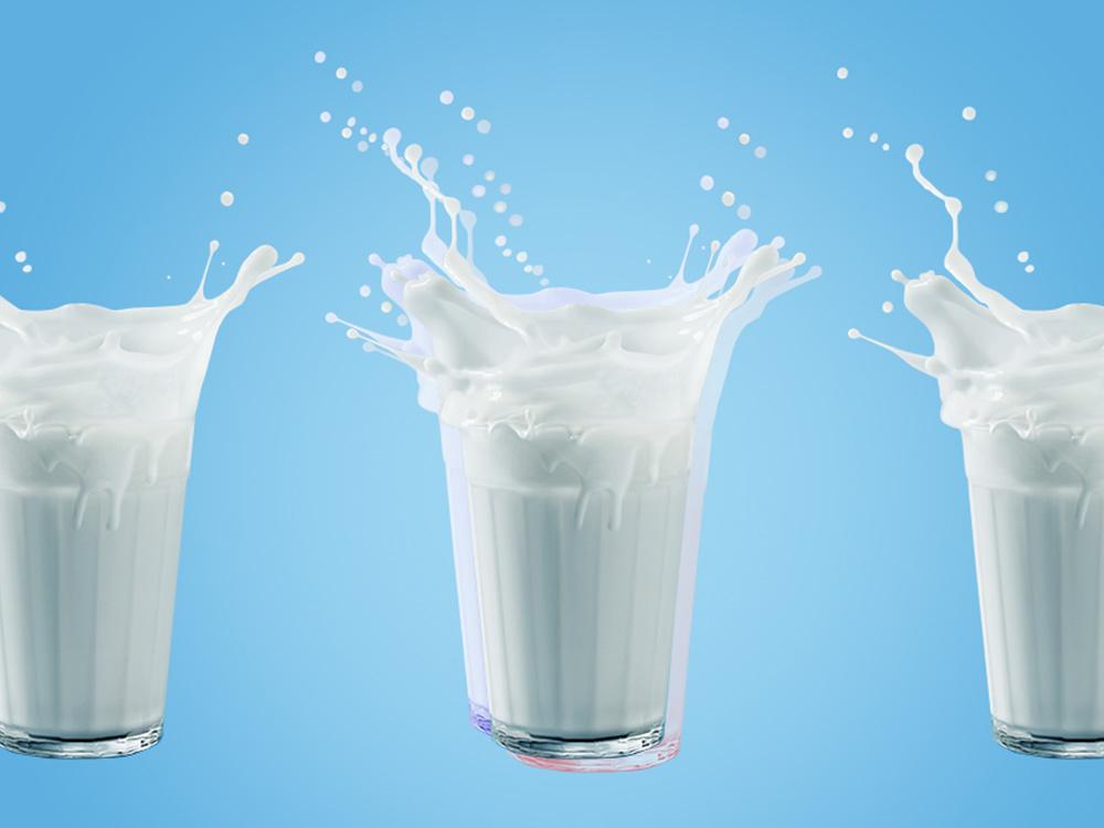Хочешь пить? Пей молоко!